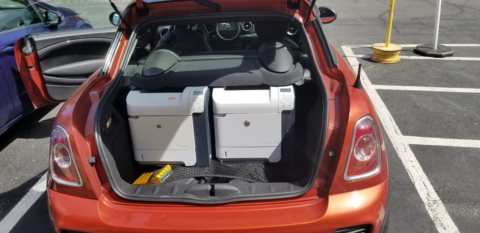 Stuff that fits into a Coupe
