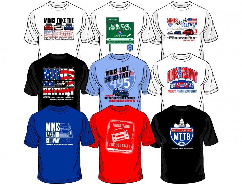 Past MTTB Shirts